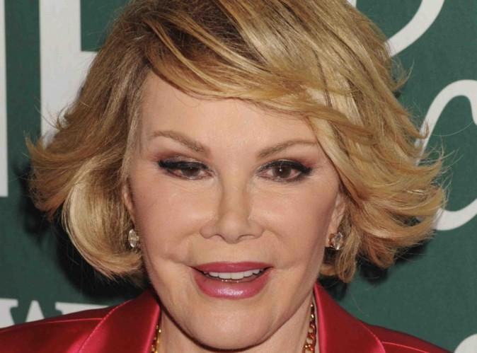 Joan Rivers : elle a été plongée dans un coma artificiel !