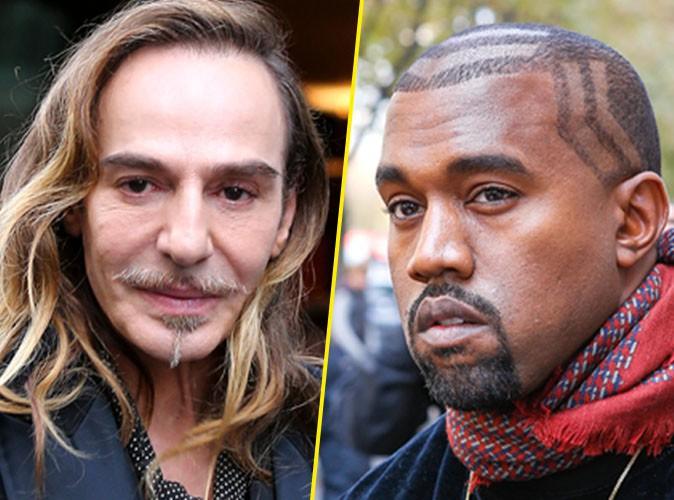 John Galliano : son retour (enfin) confirmé, Kanye West excité !