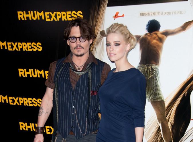 Johnny Depp et Amber Heard seraient bel et bien fiancés !