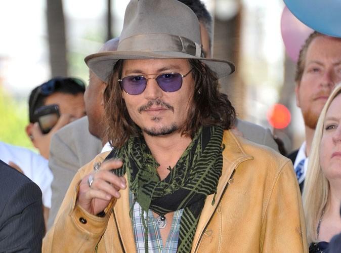 Johnny Depp et  Heidi Klum : repeints en vert, ça calme !