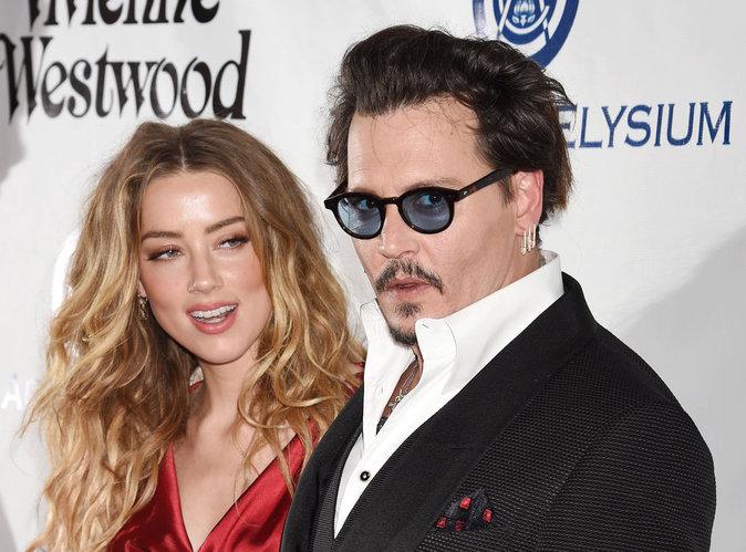 Johnny Depp : Il se coupe le doigt et insulte Amber Heard avec son sang !