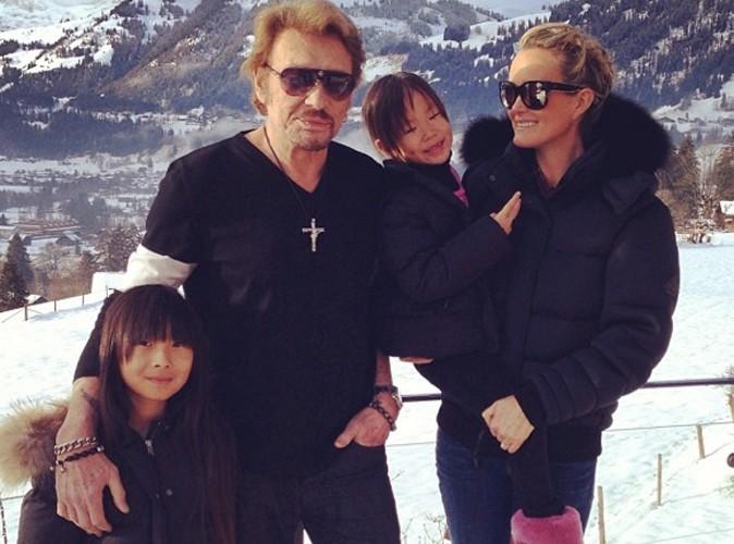 Johnny Hallyday : fini Gstaad et le ski, la petite tribu rentre à L.A !