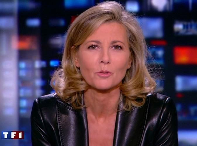 JT de TF1 : Claire Chazal fera ses adieux le...