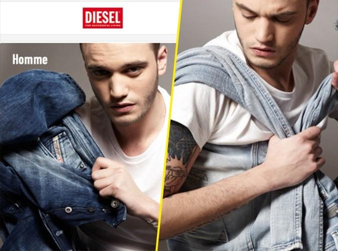 Julien Sznejderman : le beau gosse dans la nouvelle campagne pour Diesel !