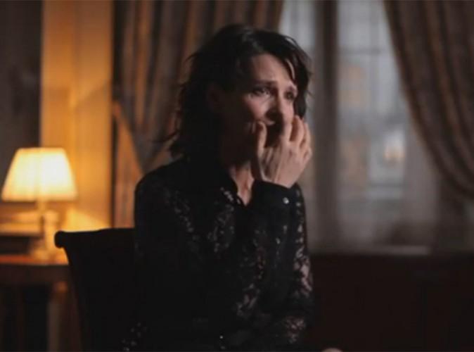 Juliette Binoche : elle fond en larmes et évoque sa souffrance dans Sept à Huit !