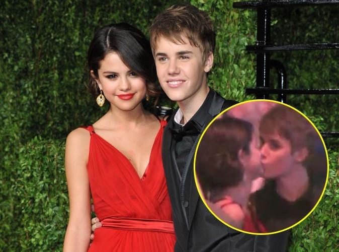 Justin Bieber et Selena Gomez : leur bisou en vidéo !