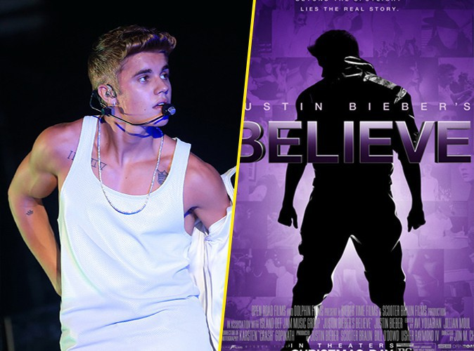"""Justin Bieber : le chanteur dévoile la bande-annonce de son film """"Believe"""" !"""