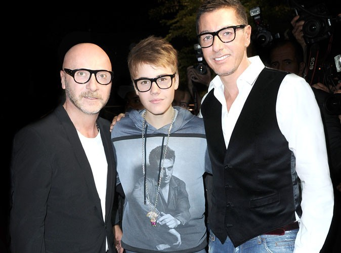 Justin Bieber : pas vraiment une icône de mode pour Dolce&Gabbana !