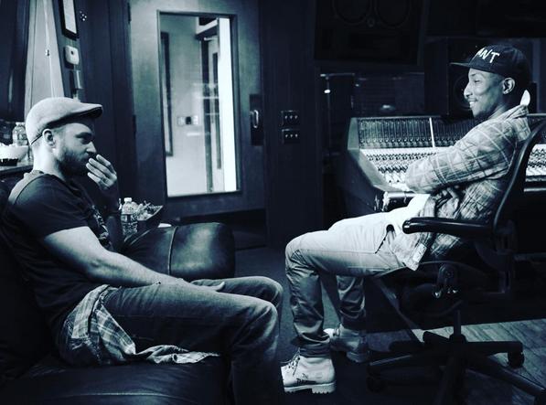 Justin Timberlake : il prépare de nouvelles chansons avec Pharrell Williams !