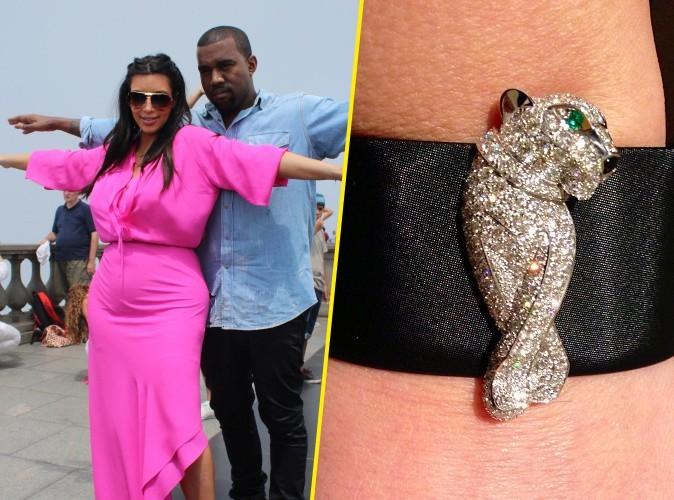 Kanye West : il a offert un bracelet Cartier à 73000$ à Kim Kardashian pour la St Valentin !