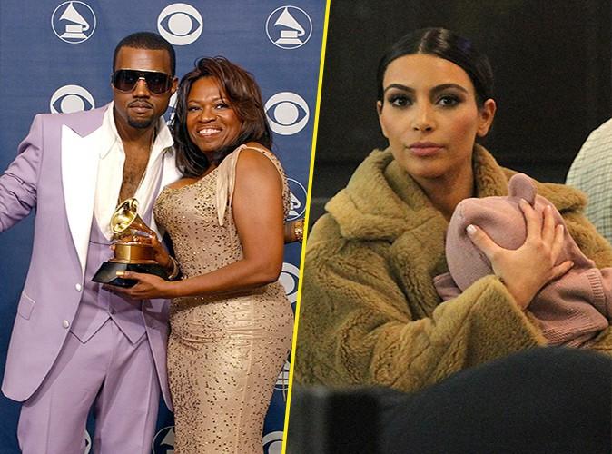 """Kanye West : """"J'aurais aimé que ma mère puisse rencontrer ma fille"""""""