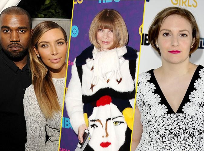 Kanye West : jaloux de la couverture de Lena Dunham, il confronte Anna Wintour pour défendre Kim Kardashian !