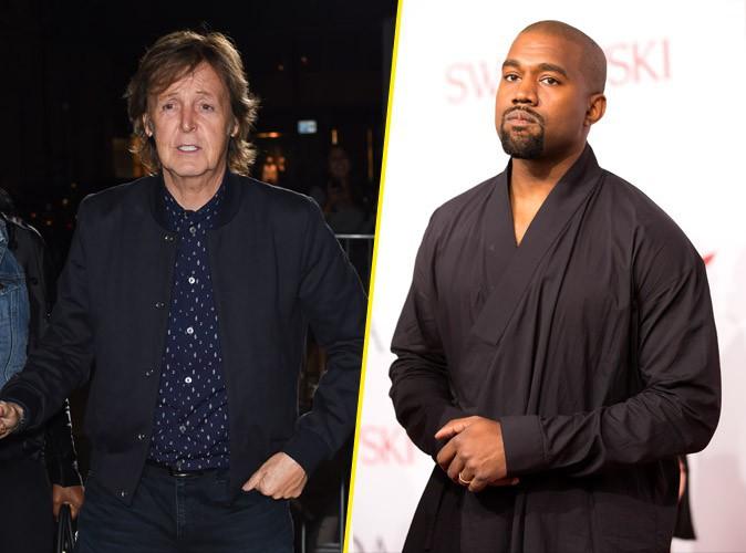 Kanye West s'attire les foudres de Paul McCartney !