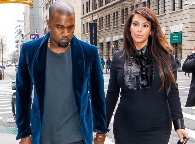 Kanye West : sans cesse auprès de Kim depuis qu'elle a accouché !