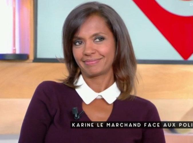 """Karine Le Marchand capricieuse ? Elle dément : """"La prod' a autre chose à foutre"""" !"""