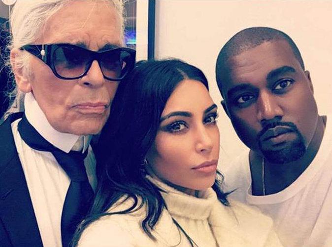 """Karl Lagerfeld à propos de Kim Kardashian : """"On ne peut pas étaler sa richesse et être surpris qu'on veuille la partager..."""""""