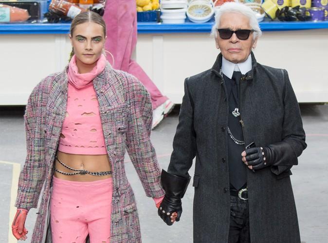 """Karl Lagerfeld : """"Cara Delevingne est le Charlie Chaplin de la mode !"""""""