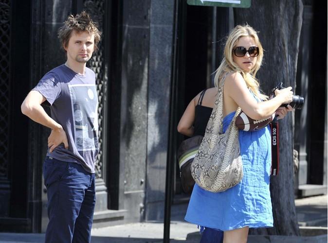 Kate Hudson et Matthew Bellamy se sont fiancés !