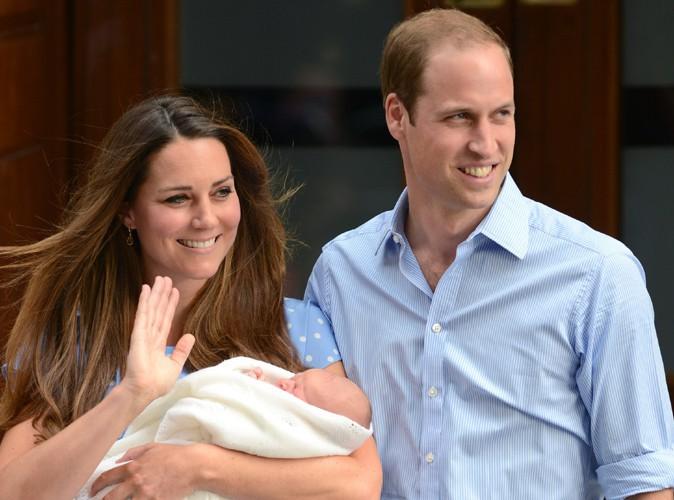 Kate Middleton et le Prince William : découvrez qui seront les parrains et marraines du Prince George !