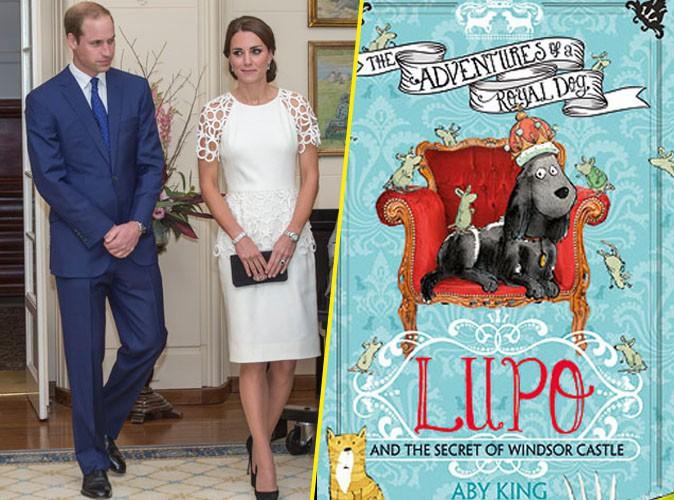 Kate Middleton et le prince William : leur chien Lupo, devient le héros d'un livre d'aventure !