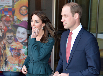 Kate Middleton et prince William à la rencontre de la plus belle reine du monde !
