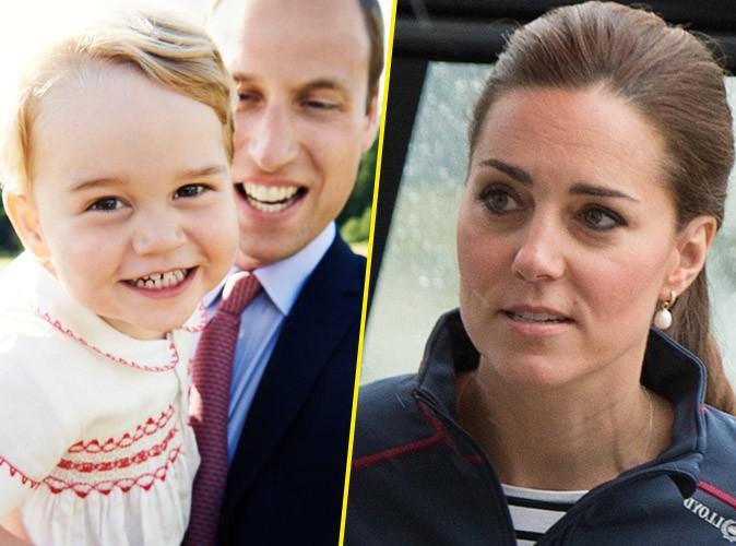 """Kate Middleton : """"George pense être plus vieux qu'il ne l'est"""" !"""