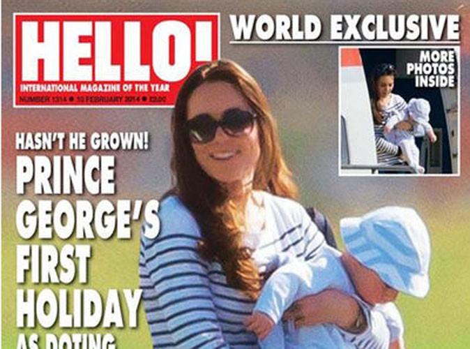 Kate Middleton : les toutes premières photos de son voyage dans les Caraïbes avec baby George !