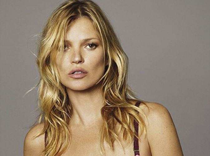 Kate Moss : elle tombe le haut contre le cancer du sein !