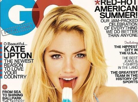 Kate Upton : une patriote hautement sexy pour le magazine GQ !
