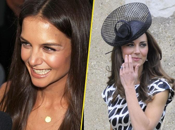 """Katie Holmes : """"Je suis si heureuse pour Kate Middleton ... Je lui souhaite le meilleur"""" !"""