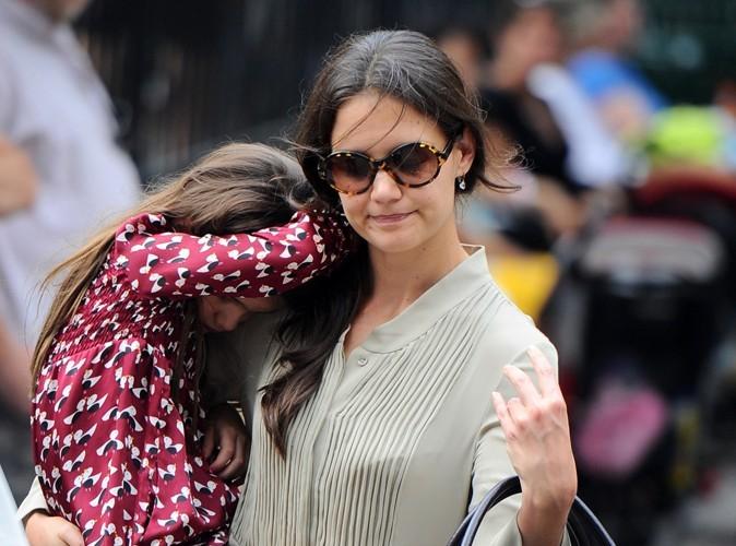 """Katie Holmes : """"Le divorce a été très dur pour Suri…"""""""