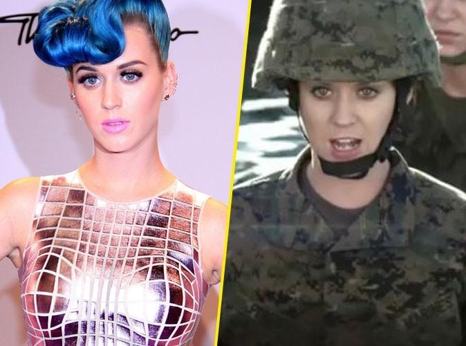 Katy Perry : accusée de faire la propagande de l'armée américaine dans son dernier clip !