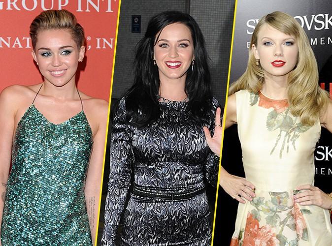 Katy Perry : elle a gardé deux étranges souvenirs de Miley Cyrus et Taylor Swift !