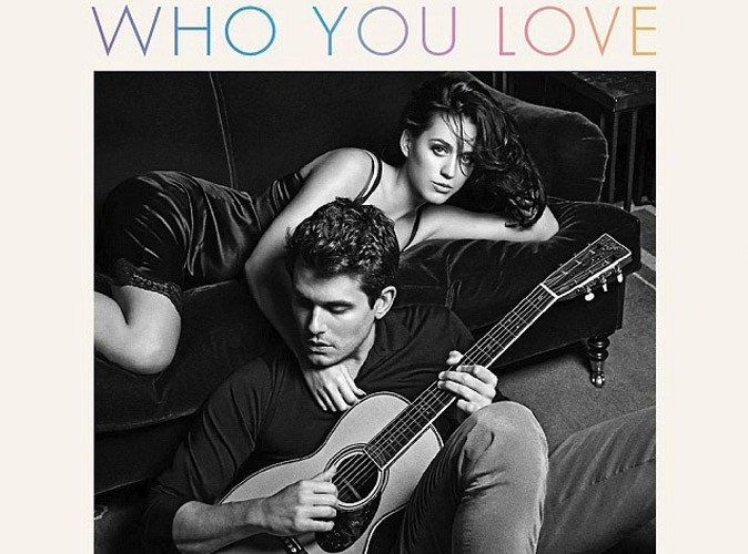 "Katy Perry et John Mayer : portrait langoureux pour la pochette de leur single ""Who You Love"" !"