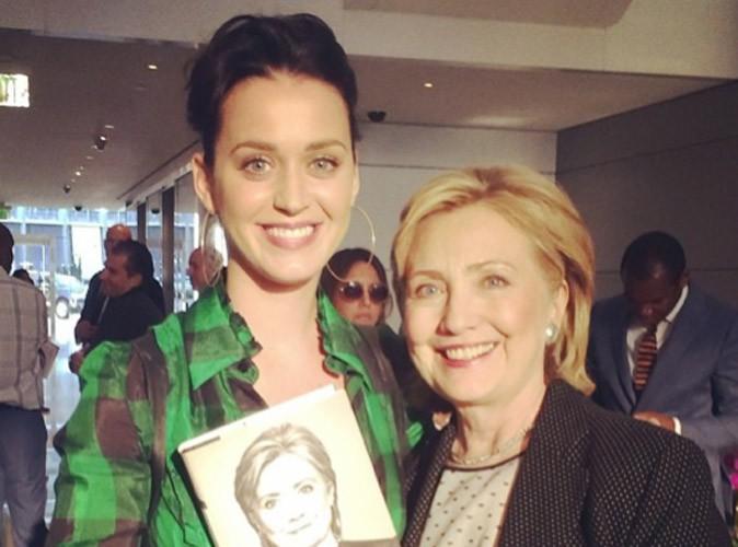 Katy Perry : prête à travailler pour Hillary Clinton !