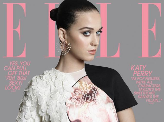 Katy Perry : splendide en couverture de ELLE, elle dit tout sur sa prépation pour le Super Bowl !