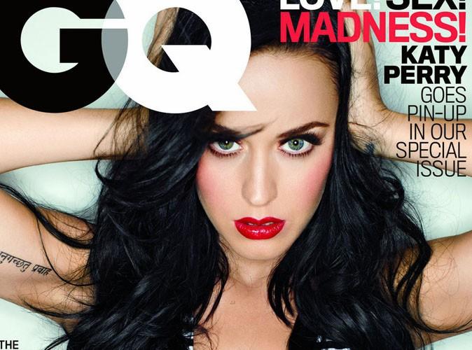 Katy Perry : une cover girl fière de sa poitrine généreuse 100% vraie !