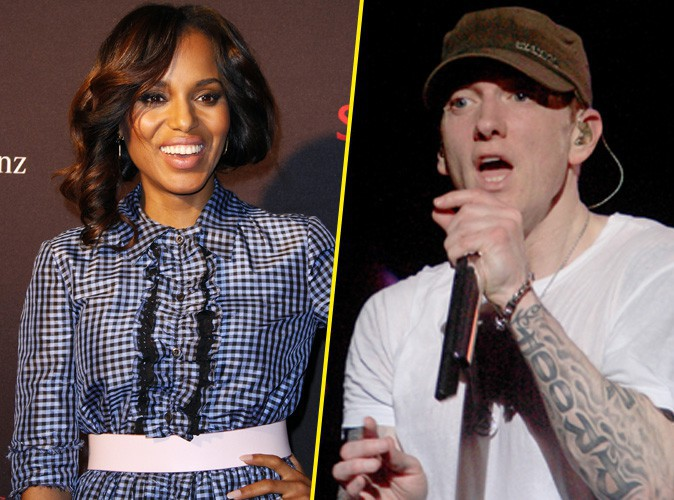 Kerry Washington et Eminem : duo improbable pour l'émission américaine Saturday Night Live !