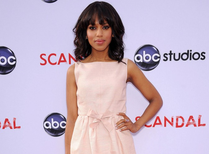 "Kerry Washington : ""Je suis la plus grande chanceuse dans le showbiz"" !"