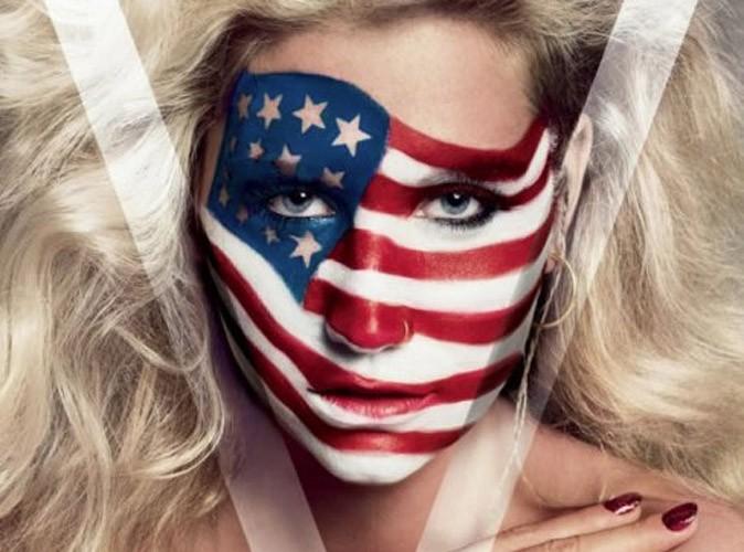 Kesha : patriote et fière de l'être, elle l'affiche clairement et dévoile un côté touchant !