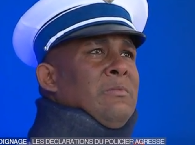 Kevin Philippy : le policier en larmes reçoit sa médaille en présence de François hollande.