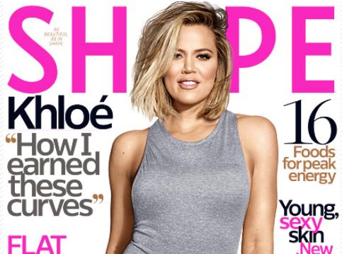 Khloe Kardashian : En Une de Shape, elle est très fière de son corps!