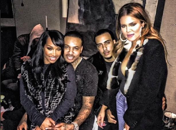 Khloé Kardashian : entre Lamar et French Montana, son cœur balance encore on dirait...