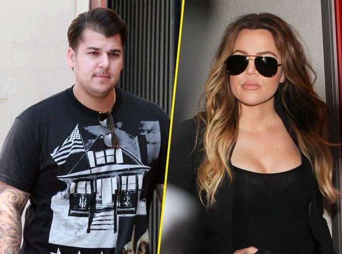 Khloé Kardashian : toujours amère ? Elle interdit à Rob de parler à Lamar Odom !