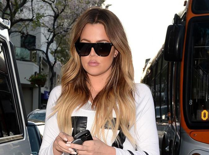 """Khloe Kardashian """"n'est pas la bienvenue"""" dans le quartier où vit French Montana !"""