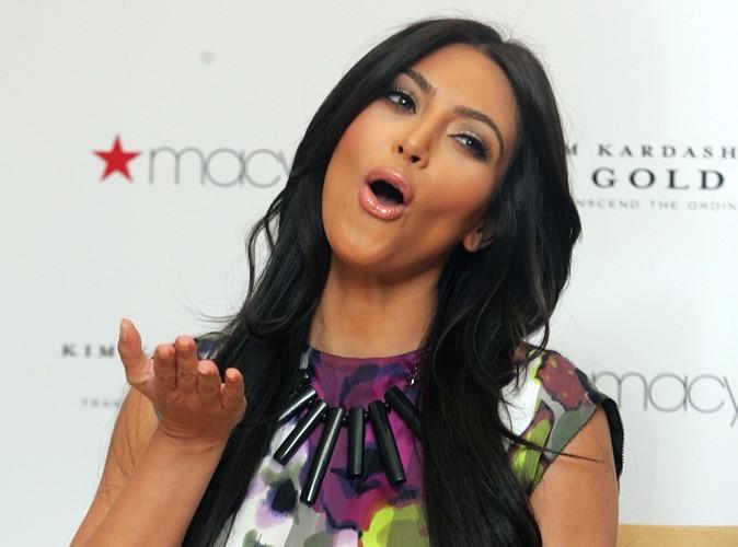 Kim Kardashian a la bénédiction de sa maman !
