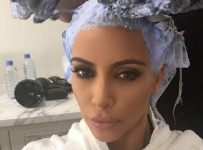 Kim Kardashian : bye bye le blond, elle a encore changé de tête !