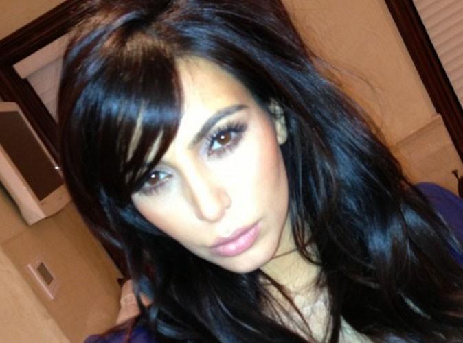 Kim Kardashian : cette fois-ci, elle a vraiment coupé sa frange !