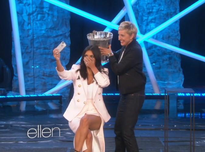 Kim Kardashian : complètement givrée sur le plateau d'Ellen DeGeneres !