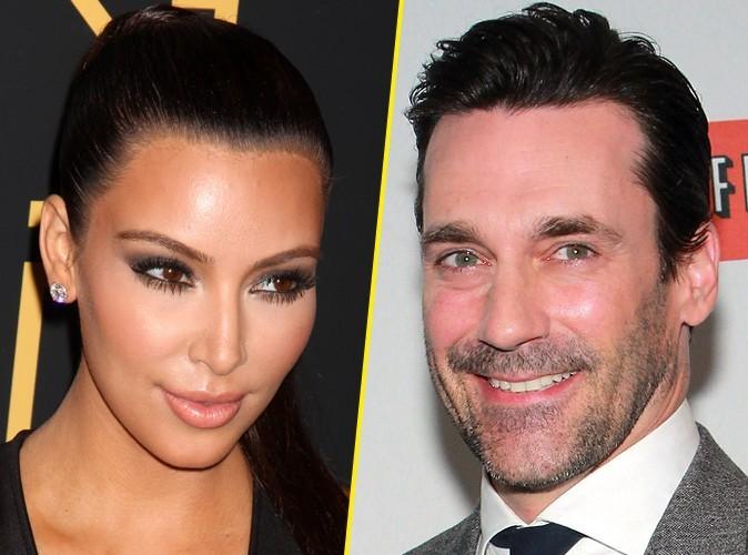 Kim Kardashian : elle fait la paix avec Jon Hamm, la star de Mad Men…
